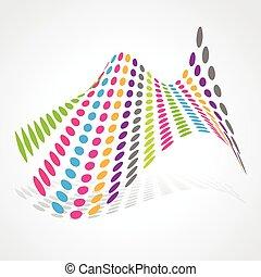 diseño abstracto, artístico