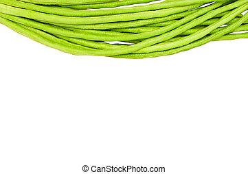 diseño abstracto, vegetales, plano de fondo, aislado