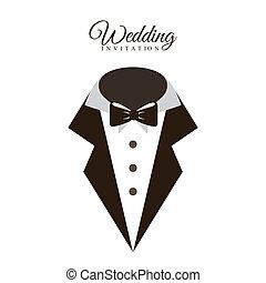 diseño, boda