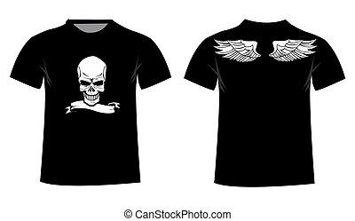 diseño, camiseta