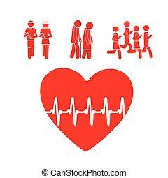 diseño, cardiología