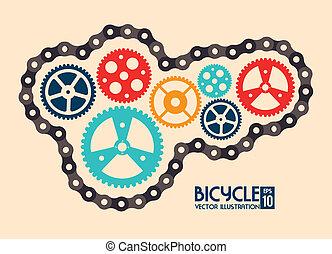 diseño, ciclismo
