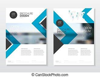 diseño, cubierta, catálogo