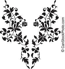 diseño de estampado de cachemira