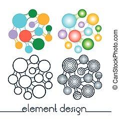 diseño determinado, elemento