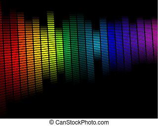 diseño, espectro