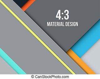 diseño, excepcional, material, moderno, plano de fondo