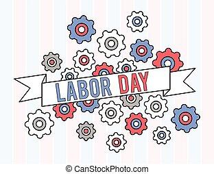 diseño gráfico, día, estados unidos de américa, trabajo