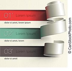diseño, infographic, moderno, plantilla