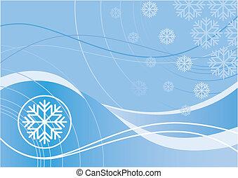 diseño, invierno