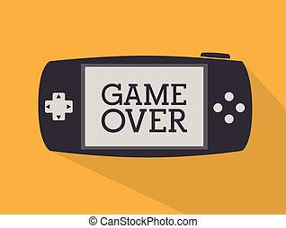 diseño, juego de video