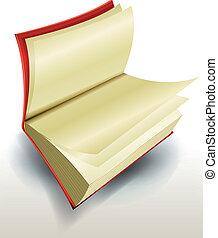 diseño, libro abierto