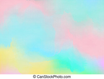diseño, lugar, colorido, pintura abstracta, acuarela, célula...
