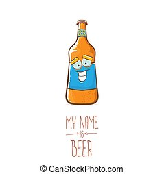 diseño, mi, cartel, cómico, feliz, concepto, caricatura, ...