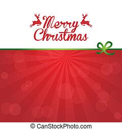 diseño, navidad, alegre