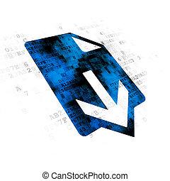 diseño telaraña, concept:, descargue, en, fondo digital