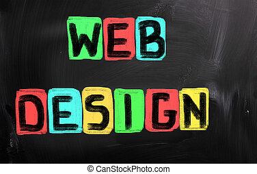 diseño telaraña, concepto