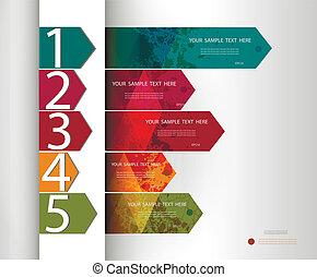 diseño, template., completamente, editable, vector.