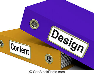 diseños, archivos, representa, diseñado, organizado, y, creaciones