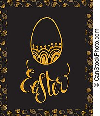 disegnare elemento, uovo, pasqua