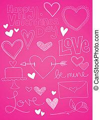 disegni, giorno valentines