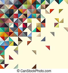 disegno astratto, geometrico, fondo