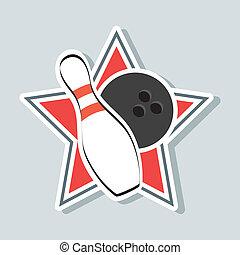 disegno, bowling