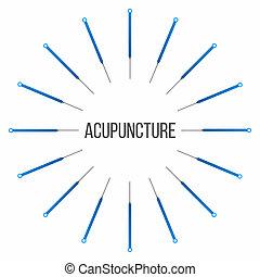 disegno, concetto, arte, astratto, isolato, illustrazione, creativo, treatments., fondo., grafico, terapia, agopuntura, terme, elemento