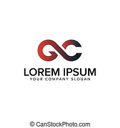 disegno, concetto, lettera, gc, sagoma, logotipo