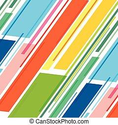 disegno configurazione, striscia, colorito
