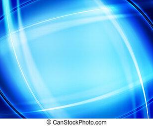 disegno, di, blu, astratto, fondo