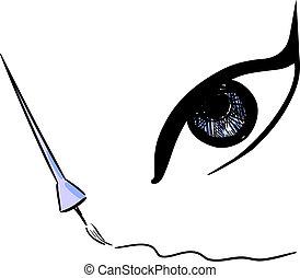 disegno, eyeliner