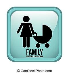 disegno, famiglia