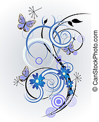 disegno floreale