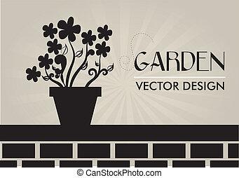 disegno, giardino
