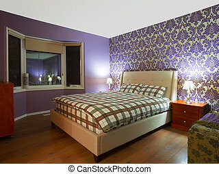 disegno interno, camera letto