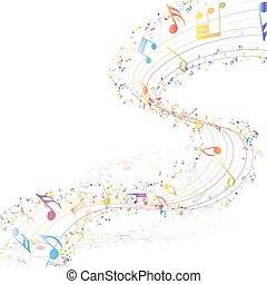 disegno, musicale
