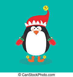 disegno, pinguino