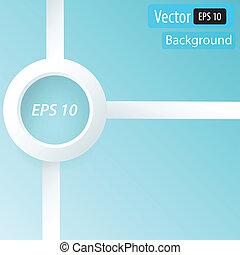 disegno, pulito, numero, bandiere, template/graphic, o, sito web, layout., vector.