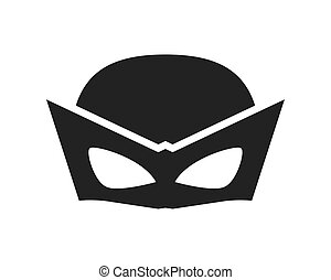disegno, superhero, maschera, superuomo