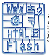 disegno web, sviluppo, kit