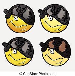 Disguise Super Hero Emoticon