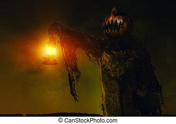 disgusting devilish man