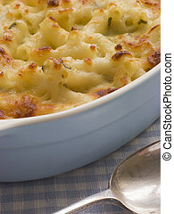 Dish of Macaroni Cheese