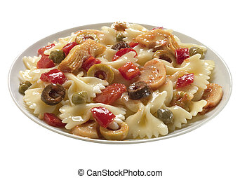 dish of pasta
