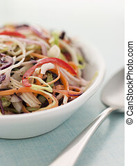 Dish Of Seeded Slaw