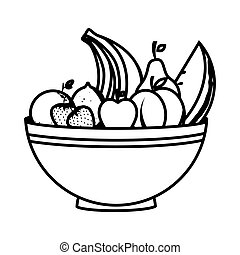 malaysian food icon with indonesian cuisine dish malaysian cuisine Indonesian Market dish with healthy food isolated icon