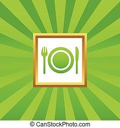 Dishware picture icon