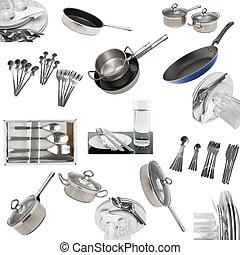 dishware , utensil., γυαλιά , αντίτυπον χαρακτικής , κολάζ