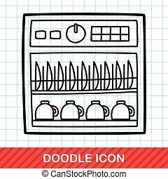 Dishwasher doodle